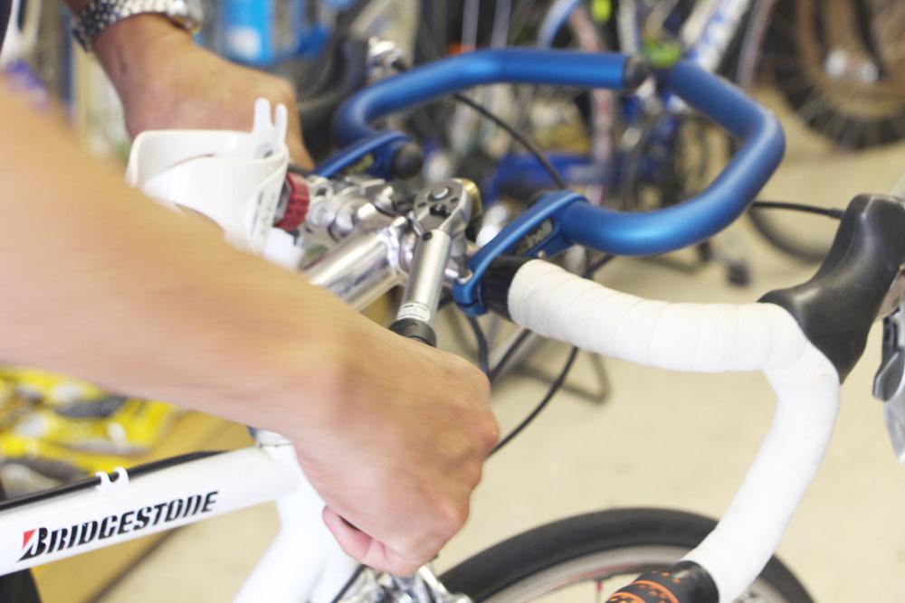 自転車の出張撮影