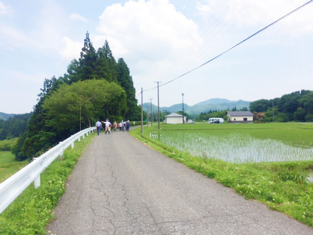 豊かな緑や風景