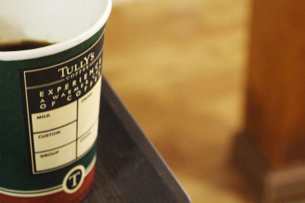 タリーズコーヒーのカップ