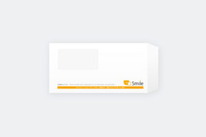 仙台市のITシステム会社の窓付き封筒印刷